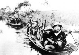 vietcong guerrilla forces from Northern Vietnam