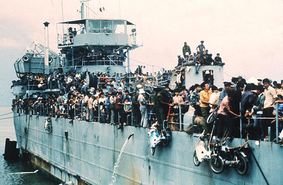 Fall of Saigon - S. VN Navy Ship HQ504