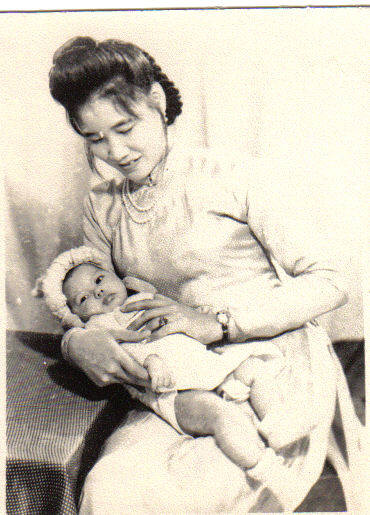 ba duc and ha at 2 months old