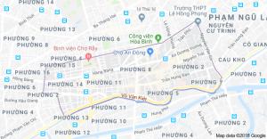 cho lon map